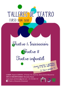 TalleresTeatro.Cartel