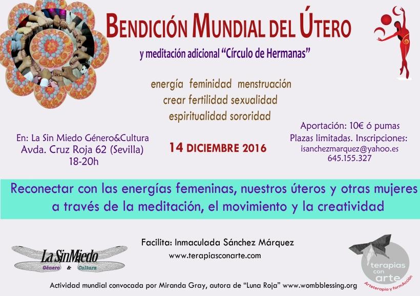 Cartel 14 DIC 2016_Bendicion Utero en La Sin Miedo.jpg